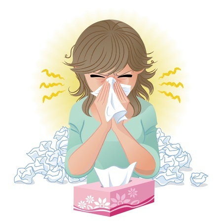 How long does the flu last in adults